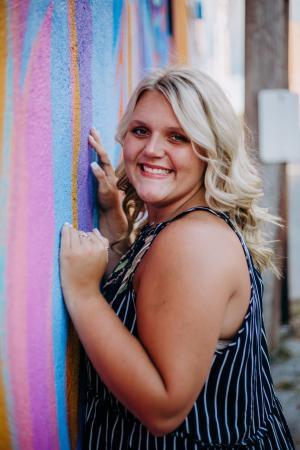 scholarship recipient TCC student Lauren Tackett