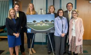 photo from announcement of the naming of the TCC West Campus Student Success Center
