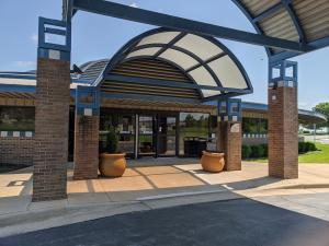 northeast campus building entrance