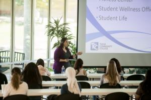 photo of TCC New Student Orientation