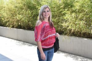 Tulsa Achieves student on campus