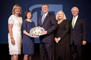 U.S.Congressman Tom Cole presented with the Vision in Education Leadership Award