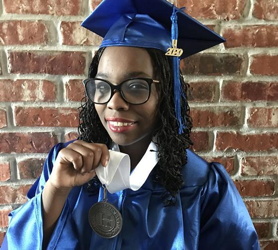 2020 TCC Graduate Justice Robinson