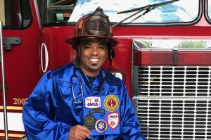 Tulsa Fire Captain and TCC Graduate Kofi Wallace