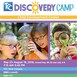 Discovery Camp. 5/23 - 8/19. Ages 4-6