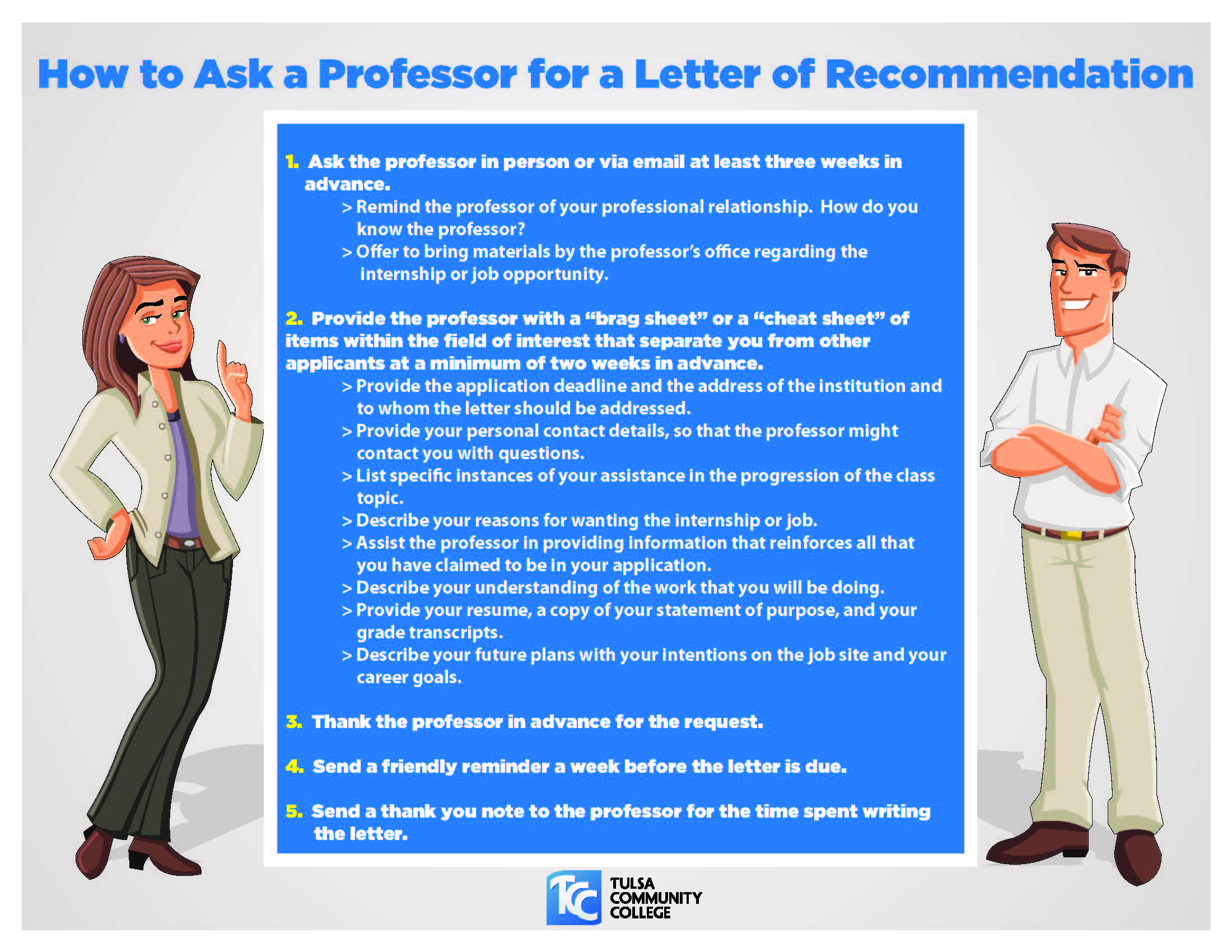 How to Ask a Professor for a Letter of Recommendation