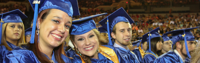 Photo of TCC graduates smiling