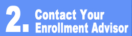 Contact Your Enrollment Advisor button