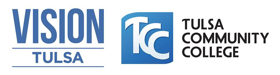 Vision Tulsa and TCC Logos