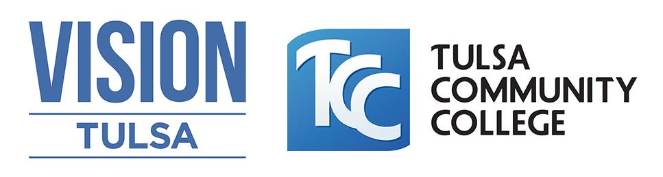 Vision Tulsa and TCC Logos